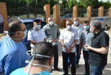 """Photo of اللواء"""" تامر سعيد """" يتفقد تجهيزات مستشفى الصدر لعزل مرضى كورونا بالاسماعلية"""