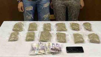 Photo of ضبط شخصين لهما معلومات جنائية مقيمان بدائرة قسم شرطة الزاوية الحمراء