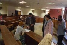 Photo of زيارة مفاجئة لرئيس جامعة بنها أثناء الامتحانات بكلية الفنون التطبيقية