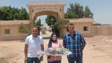 Photo of مبادرة شباب الأمل تضع الورد علي قبور شهداء معركة البرث