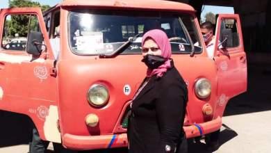 Photo of أمل فوزي تتابع خطوط سير السيارات بالمواقف لمدينة قها