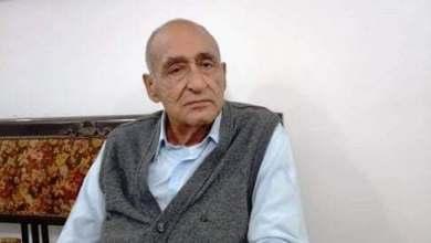 Photo of وفاه السياسي الكبير عبدالعزيز مصطفي خليل وكيل مجلس الشعب الأسبق بكفر شكر