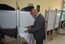 "Photo of ""الوزير"" يدلي بصوته في انتخابات مجلس الشيوخ"