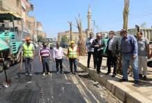 Photo of محافظ المنوفية يتابع أعمال رصف الشوارع الرئيسية بشبين الكوم