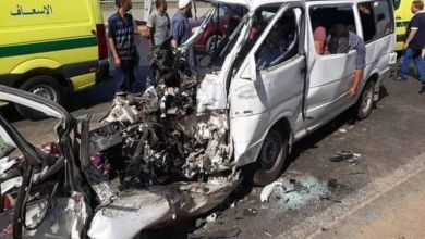 Photo of مصرع شخص وإصابة 17 فى حادث تصادم على الطريق الحر بنطاق طوخ