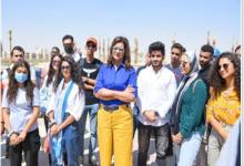 Photo of زيارة لوفد الشباب الدارسين بالخارج إلى العاصمة الإدارية