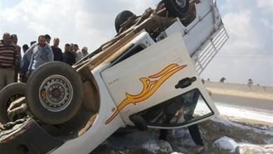 Photo of مصرع 3 أشخاص وإصابة 4 في حادث إنقلاب سيارة علي طريق العلاقى بأسوان