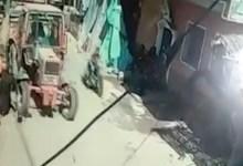 Photo of بالفيديو…لحظة دهس طفل يقود جرارا زراعيا لطفلة في المنيا