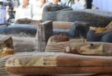 Photo of اكتشاف 59 تابوتًا أثريًا بمنطقة سقارة بداخلها مومياوات