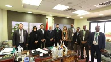 Photo of وفد البرلمان العربي يلتقي رئيس الهيئة الوطنية للانتخابات