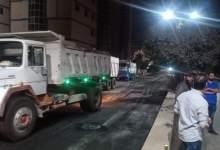 Photo of محافظ القليوبية يقوم بجولة ليلية مفاجئة لمتابعة اعمال الرصف والنظافة بمدينة بنها