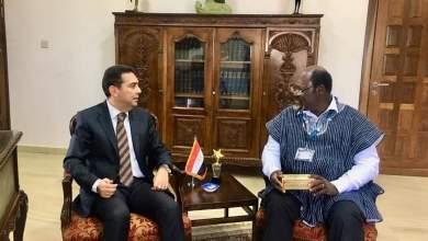 Photo of سفير مصر في أكـــرا يبحث التعاون بين البلدين في الأبحاث والعلاجات الطبية