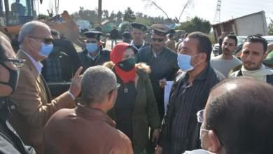 Photo of الهجان يحارب الإشغالات بمدينة قها
