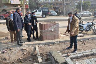 Photo of الهجان يتفقد أعمال تطوير كورنيش مدينة بنها وممشى النيل لدفع الأعمال والوقوف على نسب التنفيذ