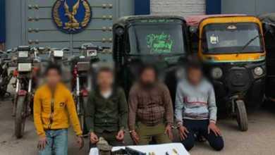 Photo of ضبط عصابة سرقة الدراجات النارية والـ«توك توك» بالمنوفية