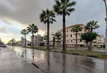 Photo of الأمطار تغزو دمياطورأس البر و تعطل حركة الصيد