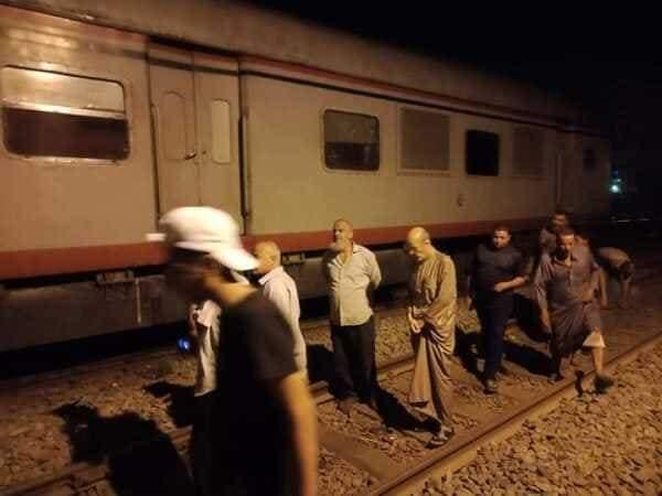 Photo of خروج عربة عن القضبان فى طنطا مما ترتب عن تعطل حركة القطارات