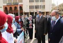"""Photo of وزير القوي العاملة ومحافظ الشرقية ورئيس جامعة الزقازيق يشاركون في مبادرة """" هنجملها """""""