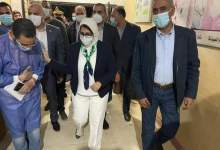 Photo of وزيرة الصحة: جميع المصابين بالمستشفيات يتلقون العلاج والرعاية الطبية اللازمة