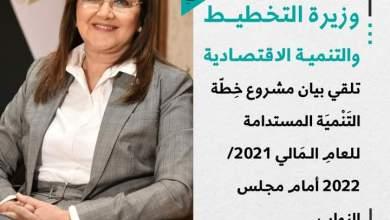 Photo of د.هالة السعيد: مِن الـمُقدّر أَنْ يَصِلَ النَّاتِج الـمحلي الْإِجْمَالِي فِي عَام الخِطّة إلى نَحْوِ 7.1 ترِيلِيُون جُنَيْه