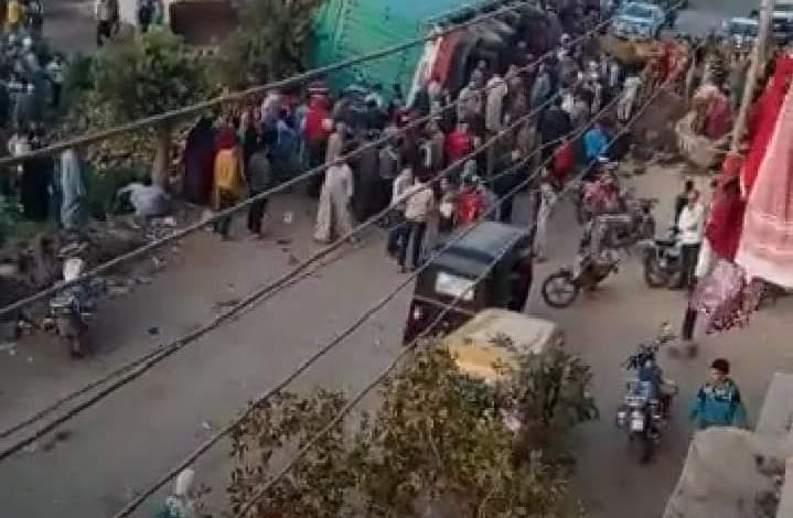 """Photo of إهمال إصلاحات الصرف في قرية الحبش بالشرقية تتسبب في """"وفاة طفلتين"""""""
