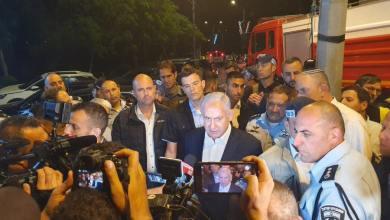 Photo of نتنياهو يصل إلي مدينة اللد المحتلة ويعلن حظر التجوال