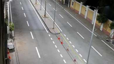Photo of محافظ القليوبية يتابع أعمال تخطيط شوارع مشروع تطوير كورنيش النيل بمدينة بنها