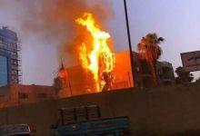 Photo of السيطرة على حريق بمستشفى صدر كفر الشيخ ووفاة حالتين بالاختناق