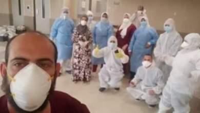Photo of خروج 21 حالة من أقسام العزل بمستشفيات بالشرقية بعد شفائها من فيروس كورونا