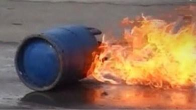 Photo of إنفجار أسطوانة غاز وإصابة شاب بحروق متفرقة بالجسد