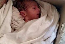 Photo of العثور علي طفل حديثي الولادة أمام مصنع للملابس بالقليوبية