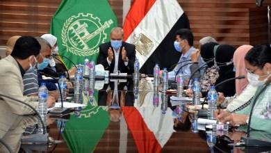 "Photo of ""الهجان"" يعقد إجتماعا مع ممثلي القومي للبحوث لدراسة مقترح إنشاء مجمع صناعي لصناعات البلاستيك بالعكرشة في الخانكة"