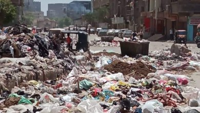 Photo of شوارع مكسرة وأطنان من القمامة.. معاناة أهالي شرق شبرا الخيمة بالقليوبية (فيديو وصور)