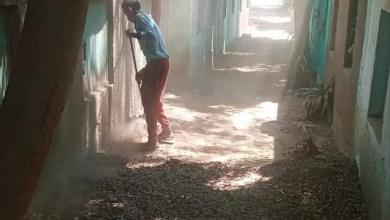 Photo of مبادرة شبابية لنظافة مقابر قرية كفر الجزار بالقليوبية