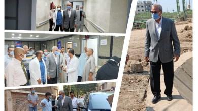 """Photo of """"الهجان"""" يتفقد مدينتي بنها وكفر شكر لمتابعة منظومة النظافة وعدد من المشروعات ويتفقد مستشفى كفر شكر المركزي"""
