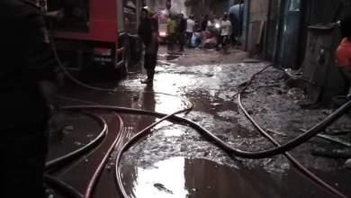 Photo of عاجل| السيطرة على حريق نشب في مصنع منسوجات بشبرا الخيمة وتبريد الموقع