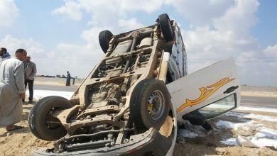 Photo of إصابة 17 شخصاً في حادث انقلاب سيارة ربع نقل بالطريق الإقليمي بالشرقية