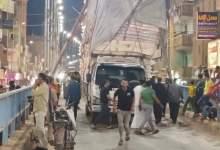 Photo of سيارة محملة بالمراتب وعواميد إنارة يتسببا في إغلاق كوبري الباجور بالمنوفية