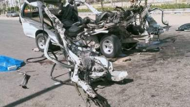 Photo of مصرع 9 اشخاص واصابة 5 بمحيط طريق السويس