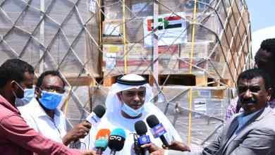 الامارات ترسل طائرة مساعدات طبية وغذائية لمتضرري الفيضانات في السودان