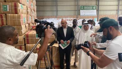 السفير السعودي بالخرطوم يدشن مشاريع اغاثية طارئة لمتضرري الفيضانات