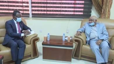 السودان: الدبيلو يبحث مع المبعوث الخاص للأمين العام للأمم المتحدة تنفيذ إتفاق السلام