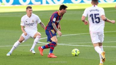 """""""ريال مدريد"""" يستعيد توازنه بدك شباك """"برشلونة"""""""