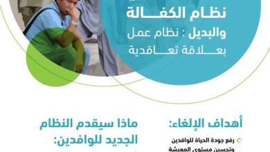 السعودية تحدد موعد تنفيذ قرار إلغاء نظام الكفالة