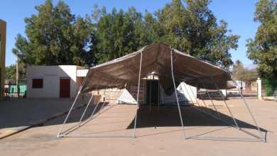 (46) خيمة للمدارس المتضررة بالخرطوم