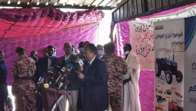 عاجل ... السودان : حمدوك يعلن رسميا السعر التركيزي للقمح