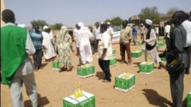 """السودان: """"إغاثي الملك سلمان"""" يوزع سلال رمضانية بجنوب كردفان"""