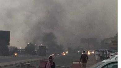 عاجل: الشرطة تطلق الغاز لتفريق إفطار الإسلاميين قرب المطار
