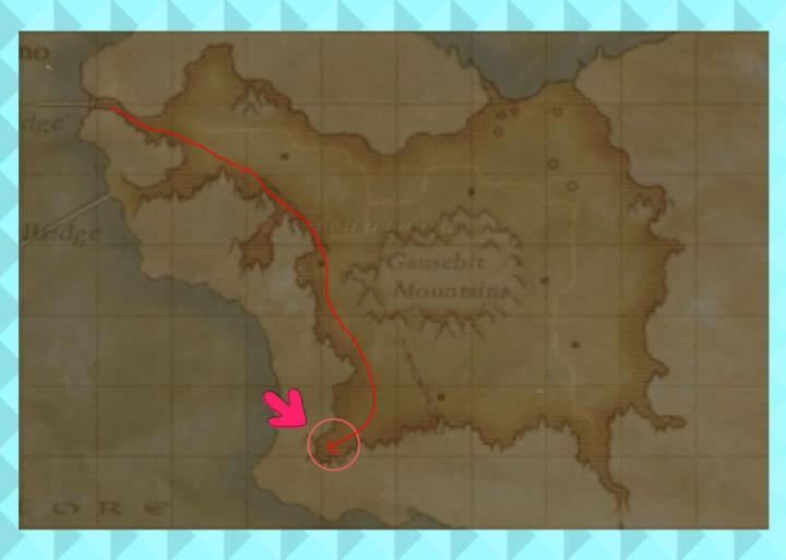 ガルレージュ要塞行き方