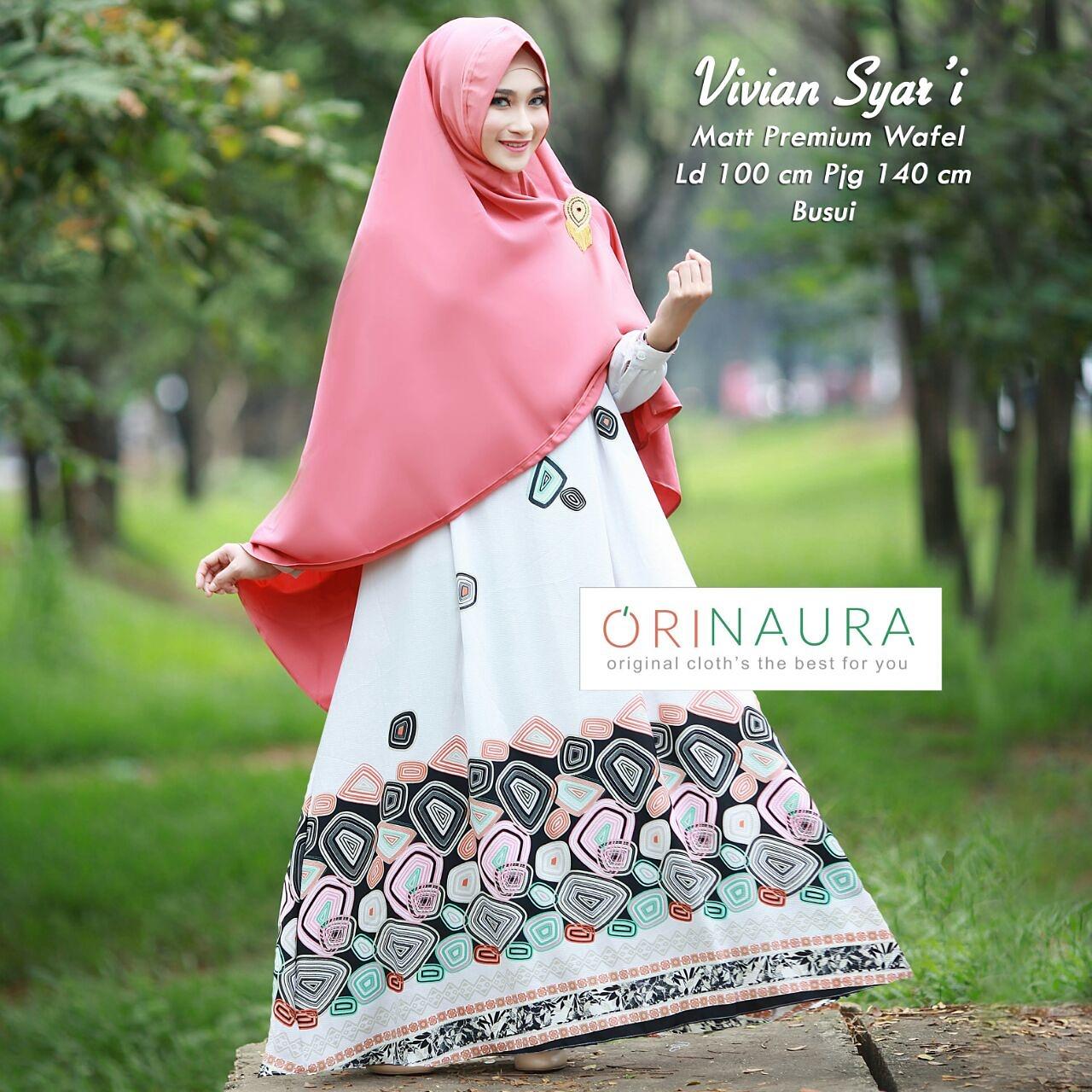 Baju Hijab Modern Terbaru Style Remaja Sekarang Nabiilah Store